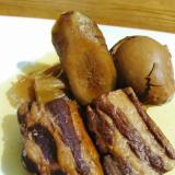 炭酸水で煮た豚の角煮!