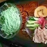 オリーブ素麺のランチセット