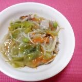 皿うどん☆野菜たっぷり、柚子胡椒で!
