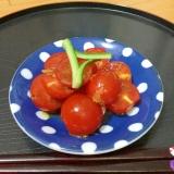 ◆いつもの肴◆プチトマトの香味和え◆