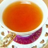 ホッと甘酸っぱい☆梅シロップ紅茶♪