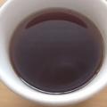 メロンコンポートを合わせたフルーティーなコーヒー
