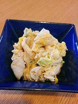 【簡単副菜】白菜の胡麻味噌マヨ和え
