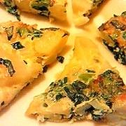 *離乳食後期*小松菜とジャガイモのミニオムレツ