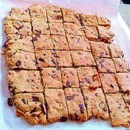 チョコとくるみの蜂蜜クッキー