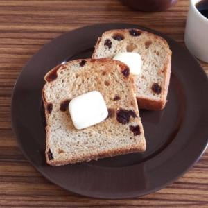 黒糖シナモンレーズン食パン