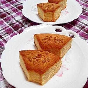 メープル風味の焼きバームクーヘン