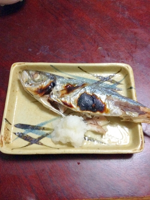 【DHA】アジの塩焼き【EPA】