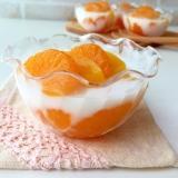 簡単おやつ♪子供が喜ぶフルーツたっぷりミルク寒天