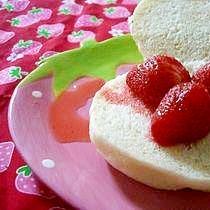レンジで30秒☆ちょい食べ苺のコンポート