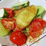 簡単☆さっぱり☆きゅうりとトマトの中華風サラダ