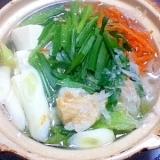 【ニラで冷え性対策】大根麺の鍋【大量消費レシピ】