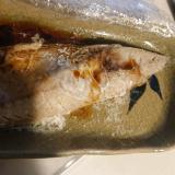鯖の梅かつお醤油焼き
