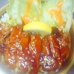 ☆トロ旨ポークソテー丼☆