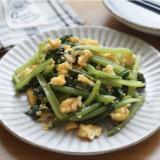 小松菜と卵の中華ナムル-お弁当✻あと一品