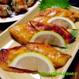 さわらの柚庵焼きです☆優しい香りの日本のお味を♪♪