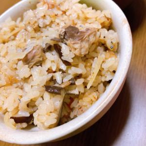 簡単✩鯖缶と生姜の炊き込みご飯