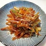 旬の野菜!フライパンで作る土筆の油炒め