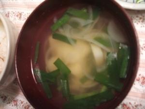 玉ねぎ&じゃがいもの中華スープ