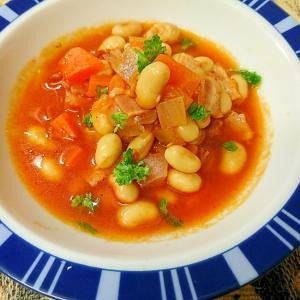 大豆のトマト煮