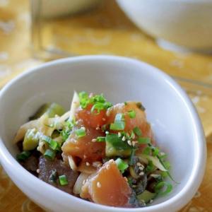 ハワイ料理の定番『ポキ』