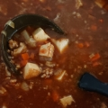 厚揚げの挽き肉カレー