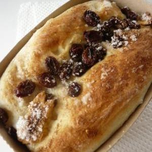 電子レンジで簡単ぶどうパン