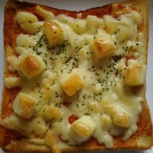 ダブルチーズの(^^)チーズトースト