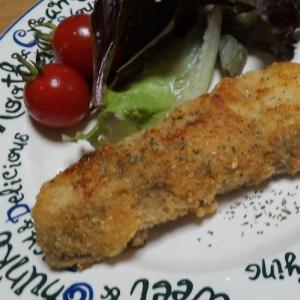 おからパウダーを使って白身魚の香草焼き