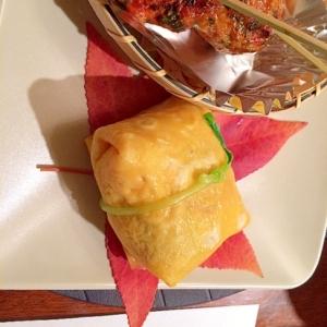 簡単!!おもてなしに鯛寿司で茶巾寿司♡