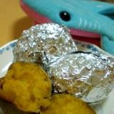 安納芋の焼き芋♪簡単にお芋が甘くなるコツ!