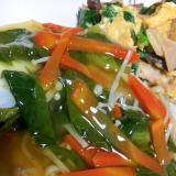 旬の鱈で野菜あんかけ