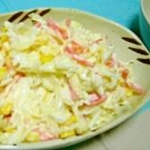 寿司酢で(/・ω・)/☆コールスローサラダ♪
