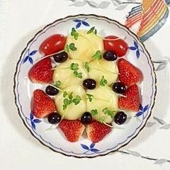 スモークチーズのミニオードブル