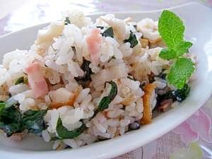 沖縄野菜★ハンダマの炒飯