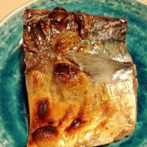グリルでヘルシー!!☆鯖の塩焼き