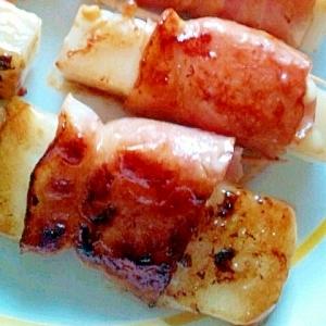醤油とマヨネーズで☆ベーコン餅