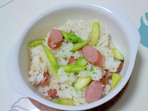 ピラフ風コンソメ炒飯++