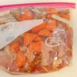漬けおき冷蔵保存★鶏肉と根菜の蜂蜜醤油漬け