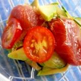 マグロサラダ