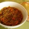 煮込まず簡単♪「豆のドライカレー」献立