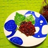 紫蘇の実の梅干し醤油漬け