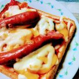 ラタトゥイユのチーズトースト