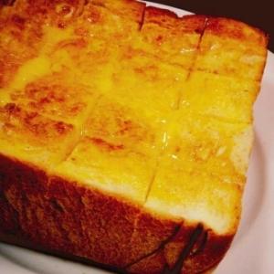 メープル塩バタートースト