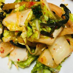 白菜*ねぎキムチ和え