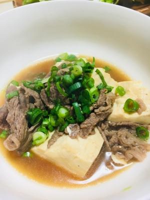 あったか♪肉豆腐