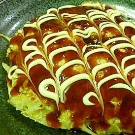 蓮根入り☆しゃきしゃき白菜のお好み焼き