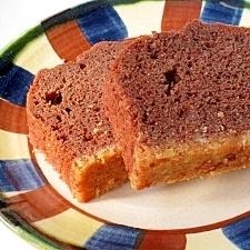 しっとり濃厚 アーモンドP入りチョコレートケーキ