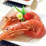 おせち料理⁂有頭海老の旨煮