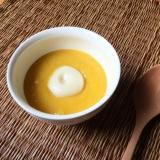 ひんやり かぼちゃのお汁粉
